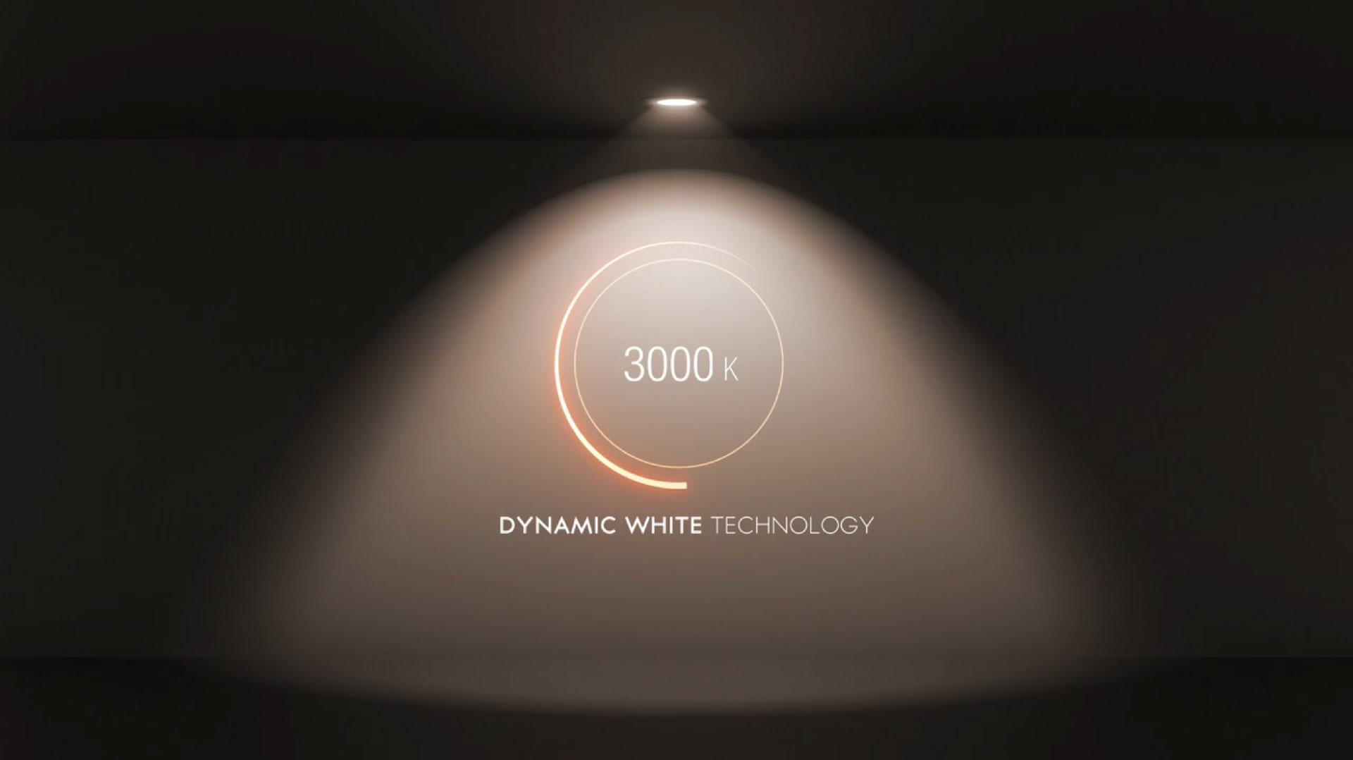 Dynamic White riproduce la luce naturale nei luoghi chiusi